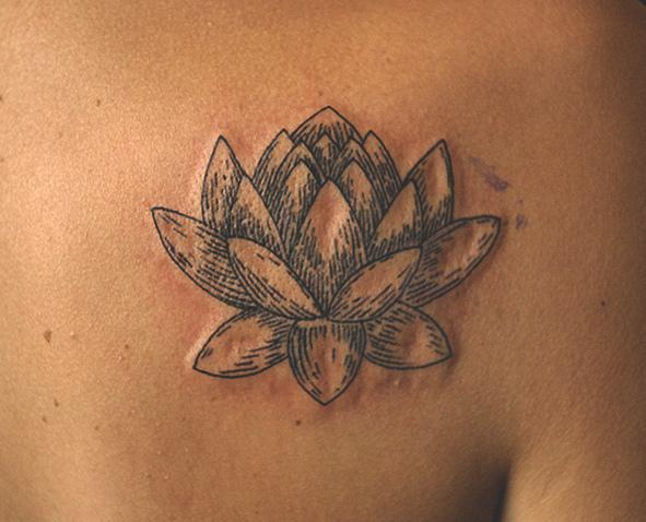 39 lotus tattoos on shoulder. Black Bedroom Furniture Sets. Home Design Ideas