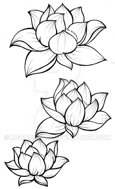 37 Simple But Beautiful Front Yard Landscaping: 37+ Traditional Lotus Tattoos Ideas