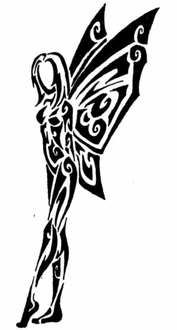 31 Tribal Fairy Tattoos Collection