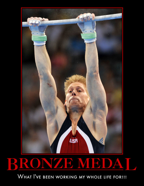 Bronze Medal What I've Been Working My Whole Life For Funny Sports Picture