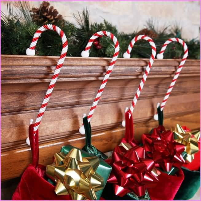 candy cane christmas decoration ideas
