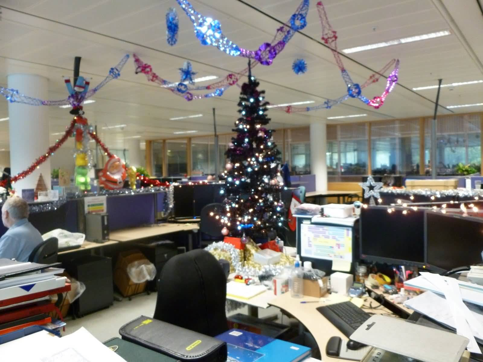 christmas decoration office. Christmas Decoration Office H