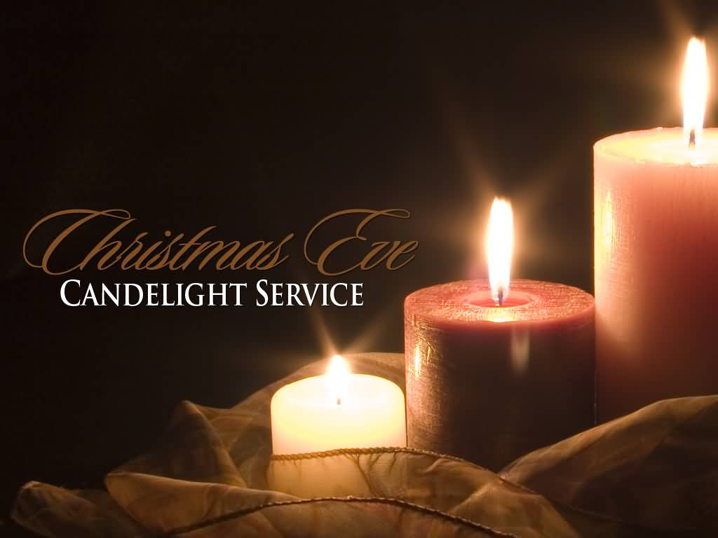 Christmas eve worship service ideas - Christmas Eve Candlelight Service Picture