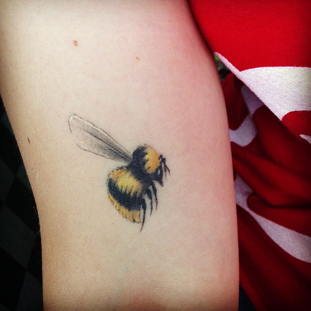 45 latest bumblebee tattoos collection rh askideas com bumble bee tattoos ideas bumble bee tattoo meaning