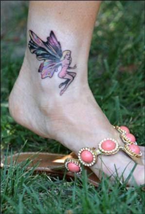 24+ Fairy Tattoos On Ankle