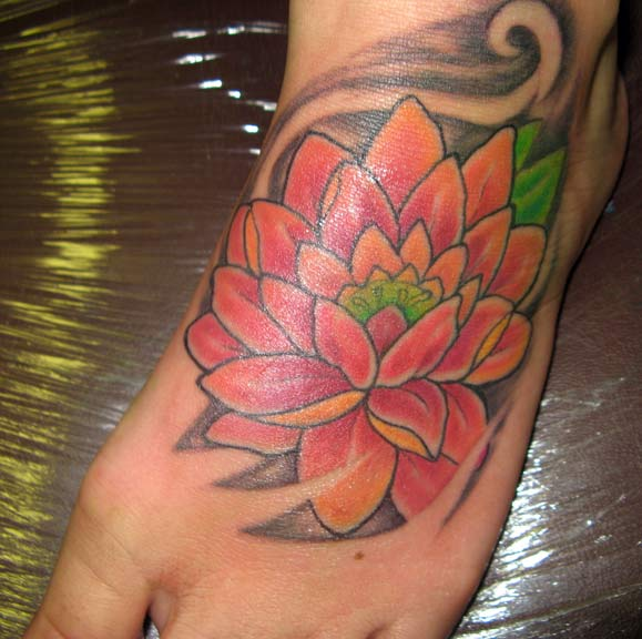 Feet Tattoos Tattoo S Idea Mandala Tattoo S Beauty: 37+ Lotus Tattoos On Foot