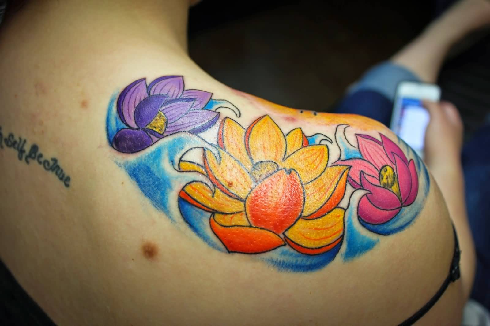 45 Lotus Tattoos For Female