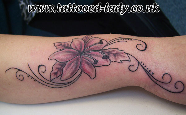 20 lily flowers tattoos on wrists. Black Bedroom Furniture Sets. Home Design Ideas