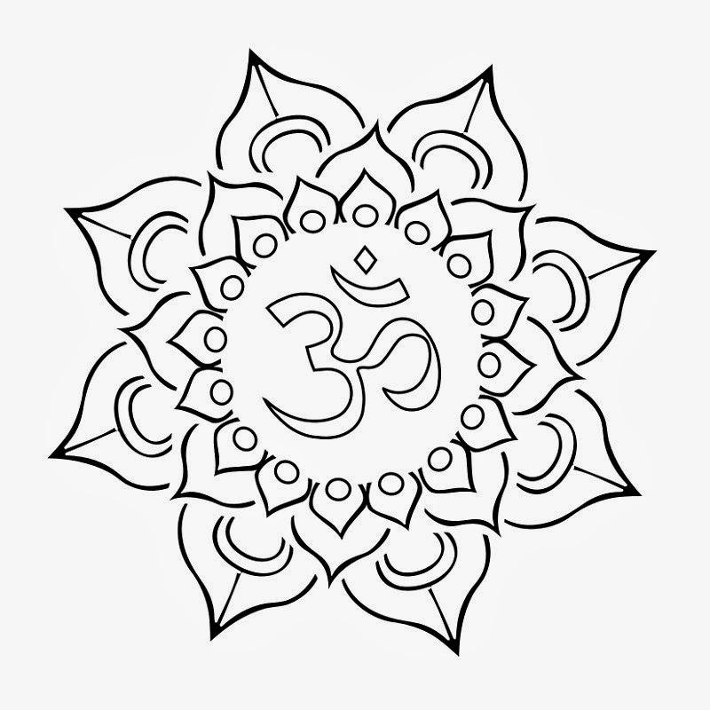 33 lotus tattoo stencils designs cool black outline om in lotus flower tattoo stencil mightylinksfo