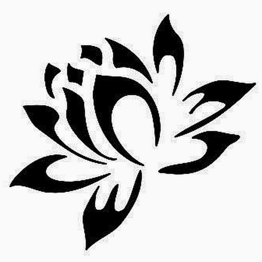 28 Tribal Lotus Tattoos Collection