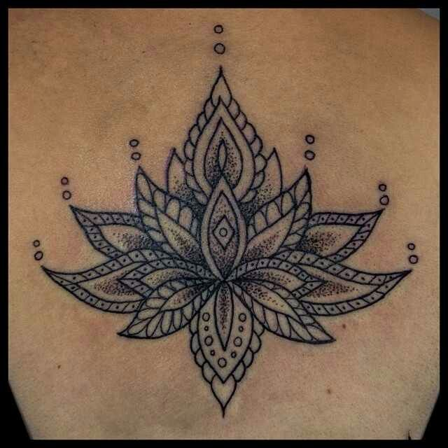 36 mandala lotus tattoos ideas