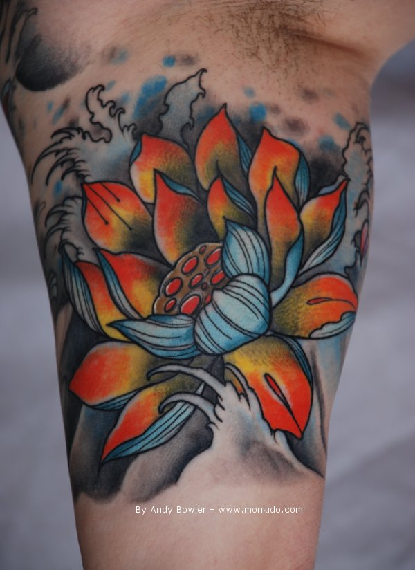 44 Japanese Lotus Tattoos Collection