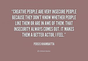what makes someone insecure