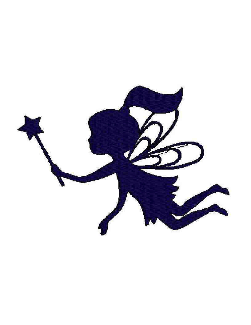 fairy cut out template - 55 silhouette fairy tattoos collection