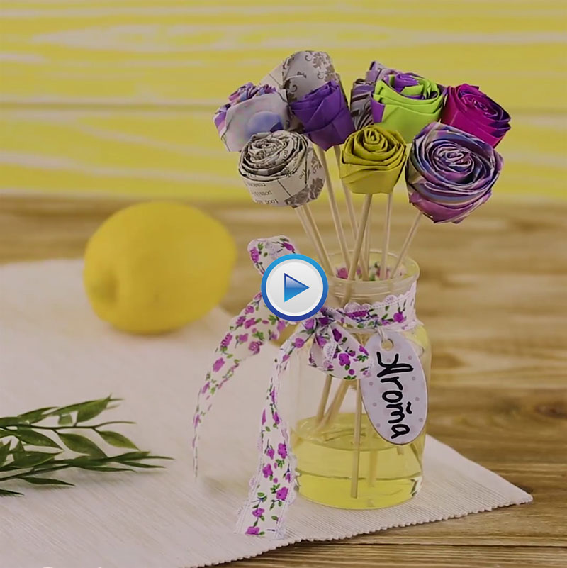 Easy to make DIY Paper Flowers