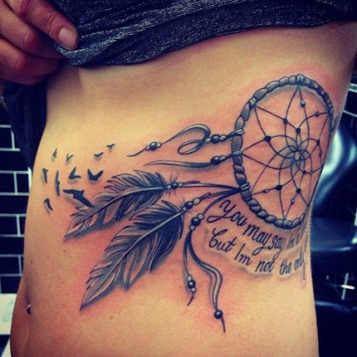 60+ Best Dreamcatcher Tattoos Ideas