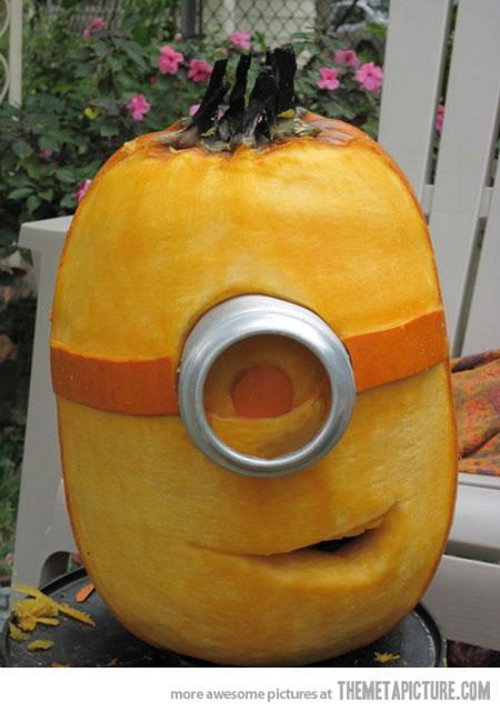 Ordinaire Funny Minion Pumpkin Picture