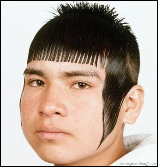 Funny Mullet Haircut Picture