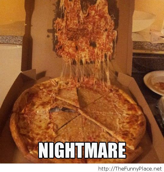 Funny Pizza Nightmare