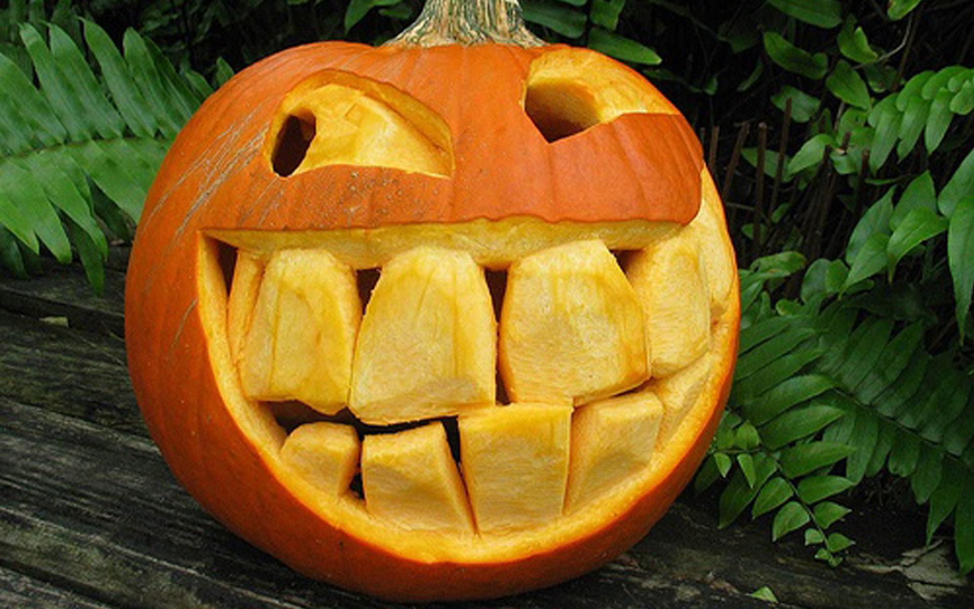 Cool Pumpkin Faces Funny Pumpkin Askideascom