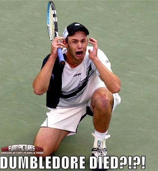 Funny Tennis Sports Player Picture