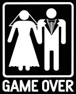Game Over After Marriage Funny Picture