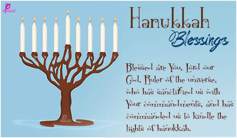 Snoopy Dog Wishes You Happy Hanukkah