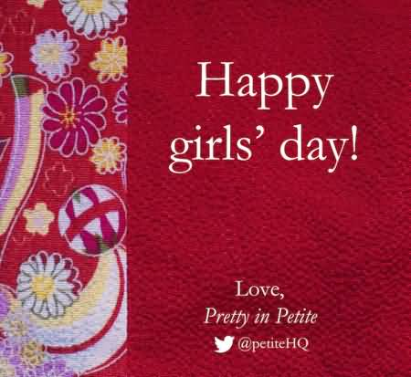 new girl day cards