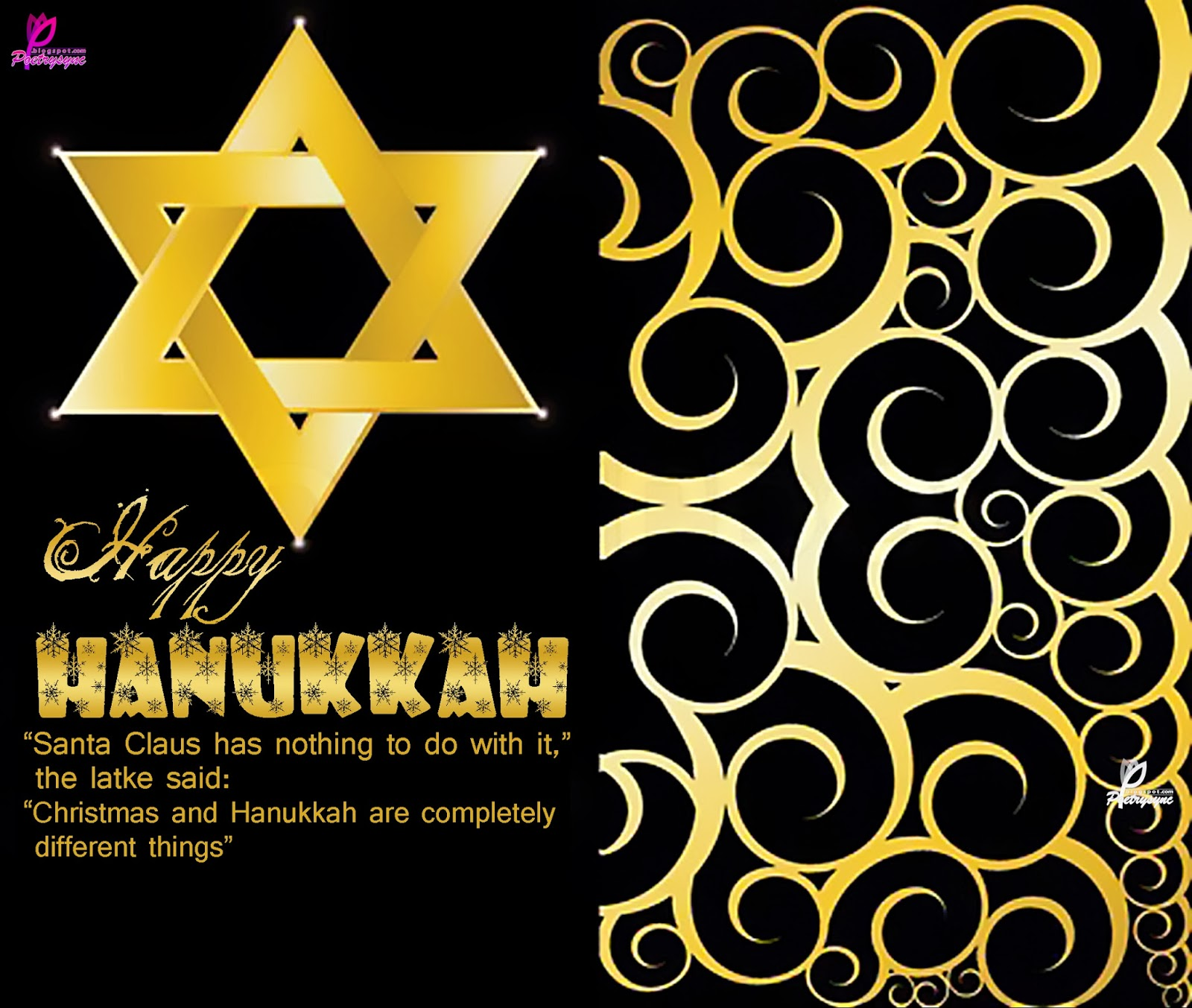 65 beautiful hanukkah greeting pictures happy hanukkah santa claus has nothing to do with it m4hsunfo