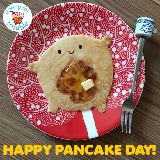 55 Very Beautiful Pancake Day Wishes Pictures