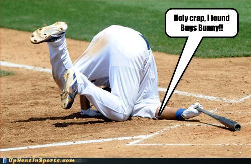 Holy Crap I Found Bugs Bunny Funny Sports Picture
