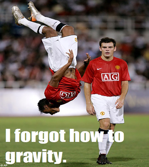 I Forgot How To Gravity Funny Sports