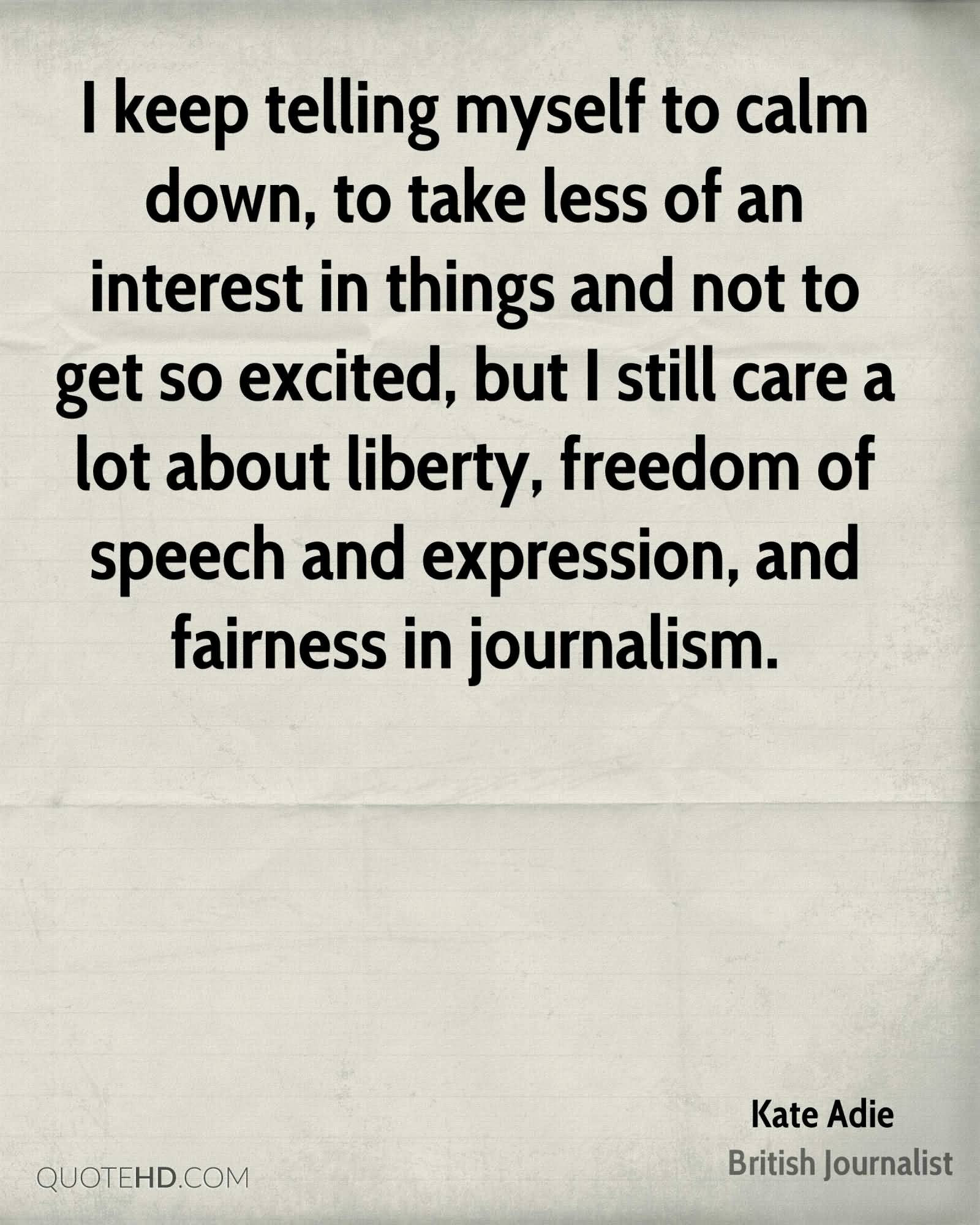 journalism and freedom of speech For the fourth: ben franklin on freedom of speech—50 years before the constitution.