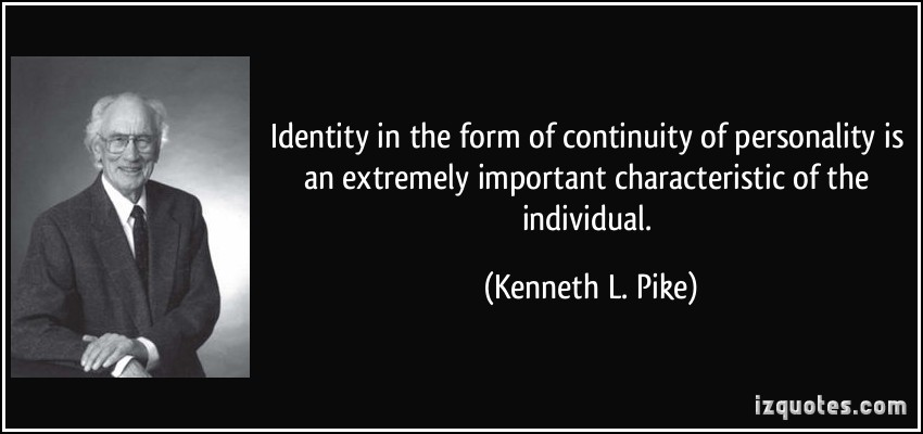 why is personal identity important in Why a sense of identity is important print reference this  disclaimer: this work has been submitted by a student this is not an example of the work written by our professional academic writers you can view samples of our professional work here.