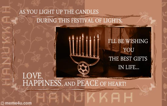 65 beautiful hanukkah greeting pictures ill be wishing you the best gifts in life love happiness and peace m4hsunfo