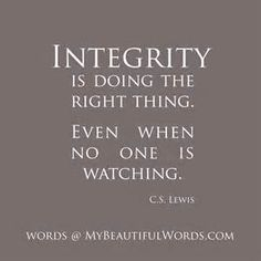Quotes About Integrity 62 Most Beautiful Integrity Quotes And Sayings