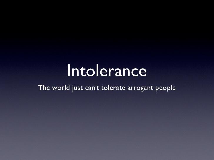 i hate arrogant people quotes - photo #25
