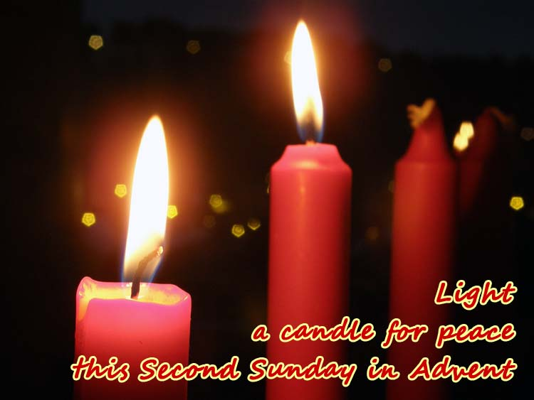 Light A Candle For Peace This Second Sunday In Advent & 20+ Very Beautiful Second Sunday Of Advent Greeting Pictures