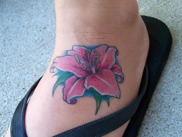 61+ Lily Flowers Tattoos Collection