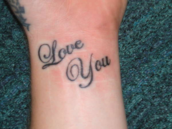 50+ Beautiful I Love You Tattoos