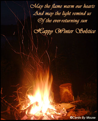 May The Flame Warm Our Hearts And May The Light Remind Us Of The Ever-Returning Sun Happy Winter Solstice