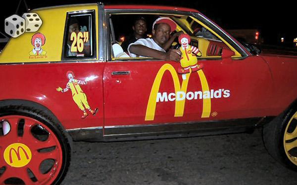 McDonald's Funny Car