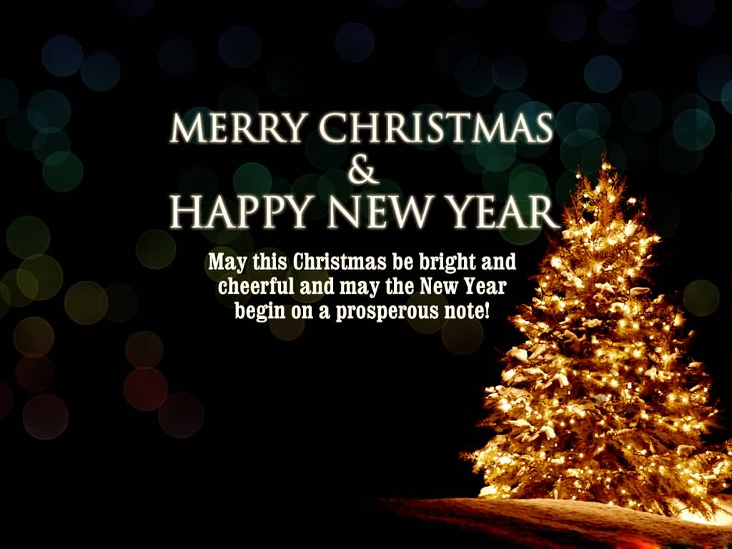 Download Merry Christmas And New Year Wishes