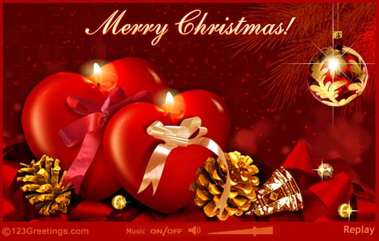 Merry christmas greeting card m4hsunfo