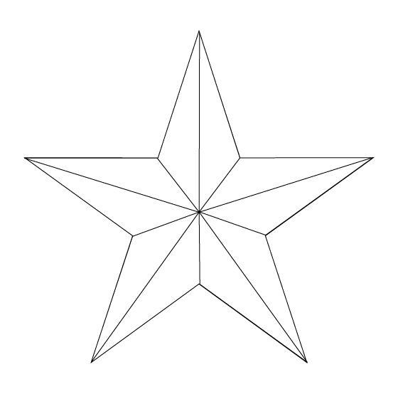 nice outline nautical star tattoo design. Black Bedroom Furniture Sets. Home Design Ideas