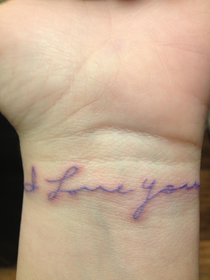 20+ I Love You Tattoos...