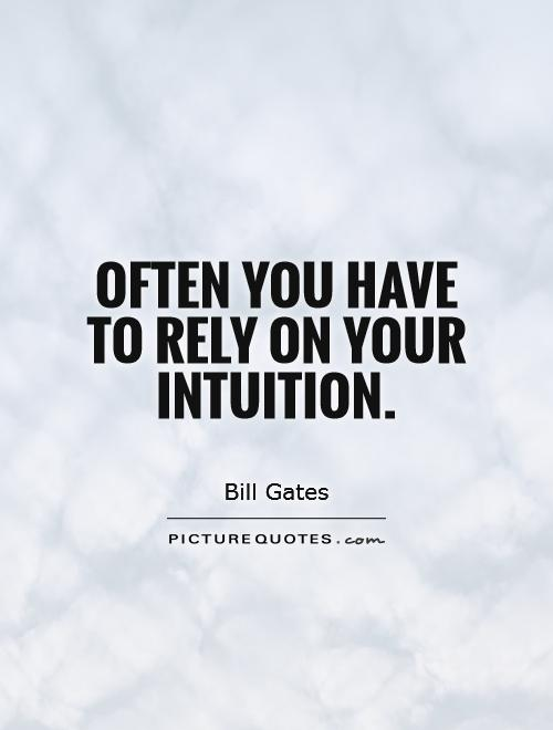 Intuition Quotes Custom 48 Most Beautiful Intuition Quotes And Sayings