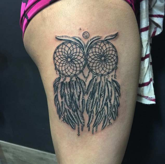 60 Best Dreamcatcher Tattoos Ideas