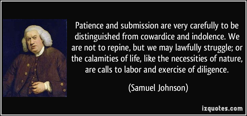 patience definition essay