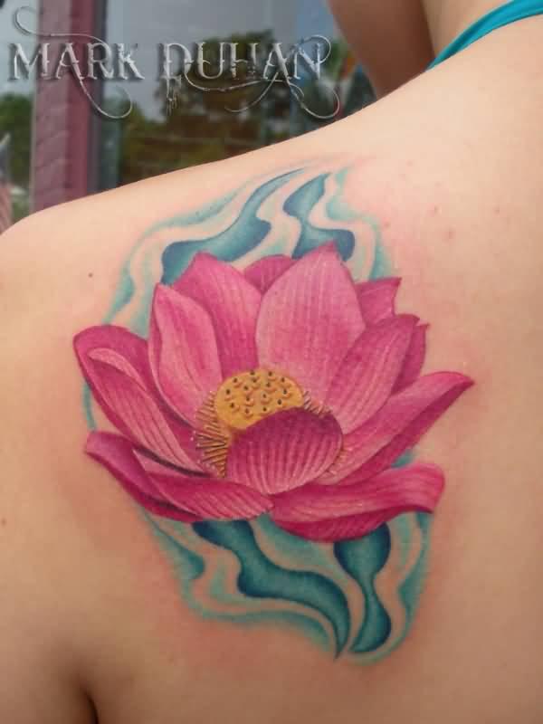 44 Japanese Lotus Tattoos Collection